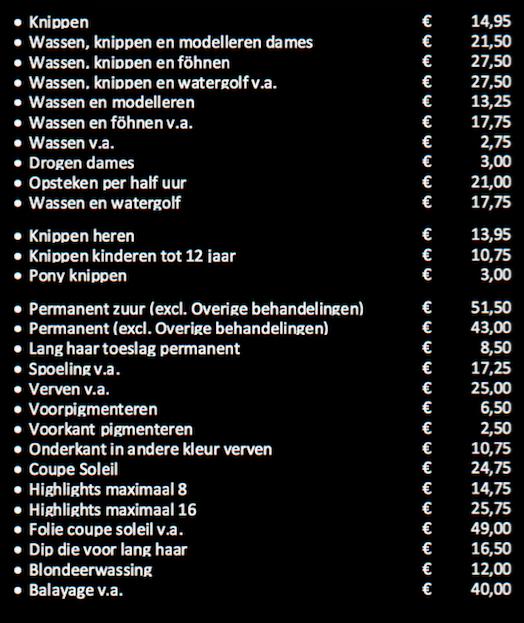 prijslijst-2017-vstyle